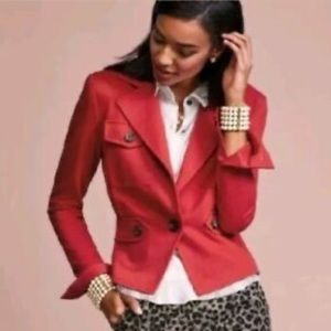 Cabi Little Red Jacket Size 12 NWT